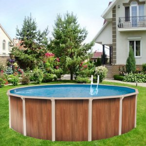 Каркасный бассейн 360х132см Atlantic Pool Esprit-Big, фильтр-насос Emaux